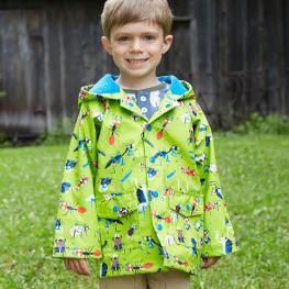 Детско яке Веселите насекоми