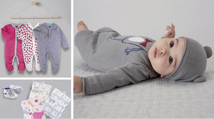 Най-необходимите бебешки дрешки през първите месеци