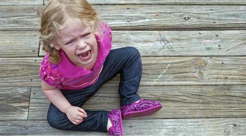 Как да се справим с внезапните изблици на гняв при децата