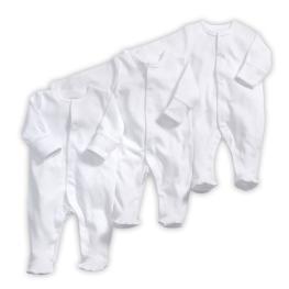 Комплект бели гащеризончета - 3 броя